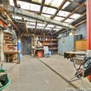 Werkstattlager und Wasserspeicher