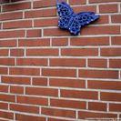 schönes Rotziegel-Mauerwerk