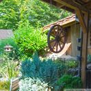Teilbick in den Garten