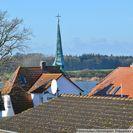 Blick westlich über Maasholm